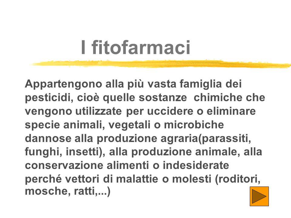 I fitofarmaci