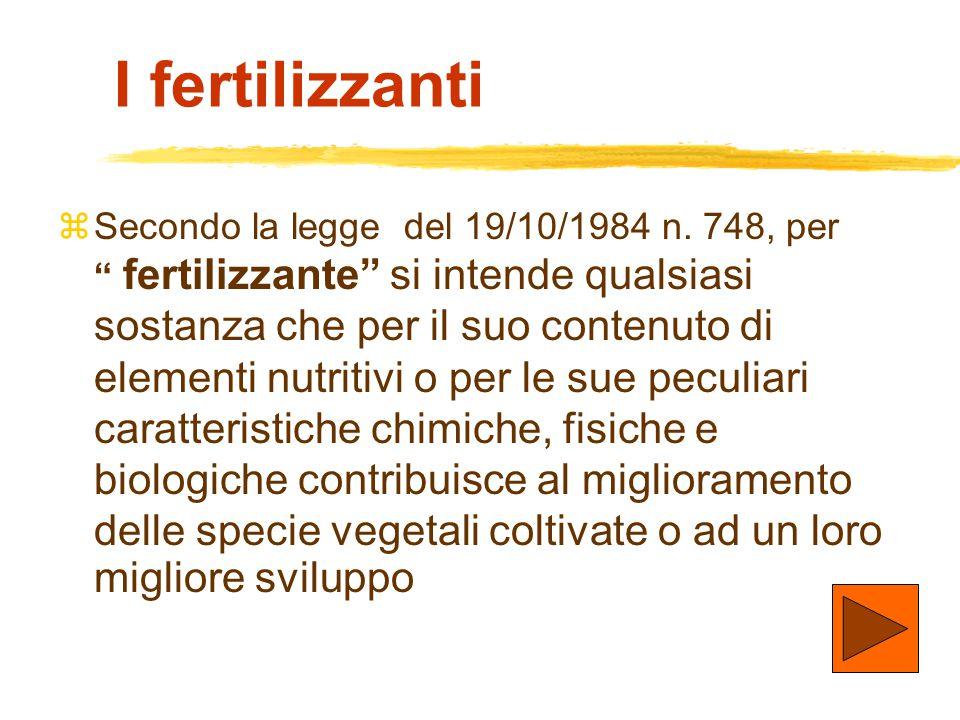 I fertilizzanti