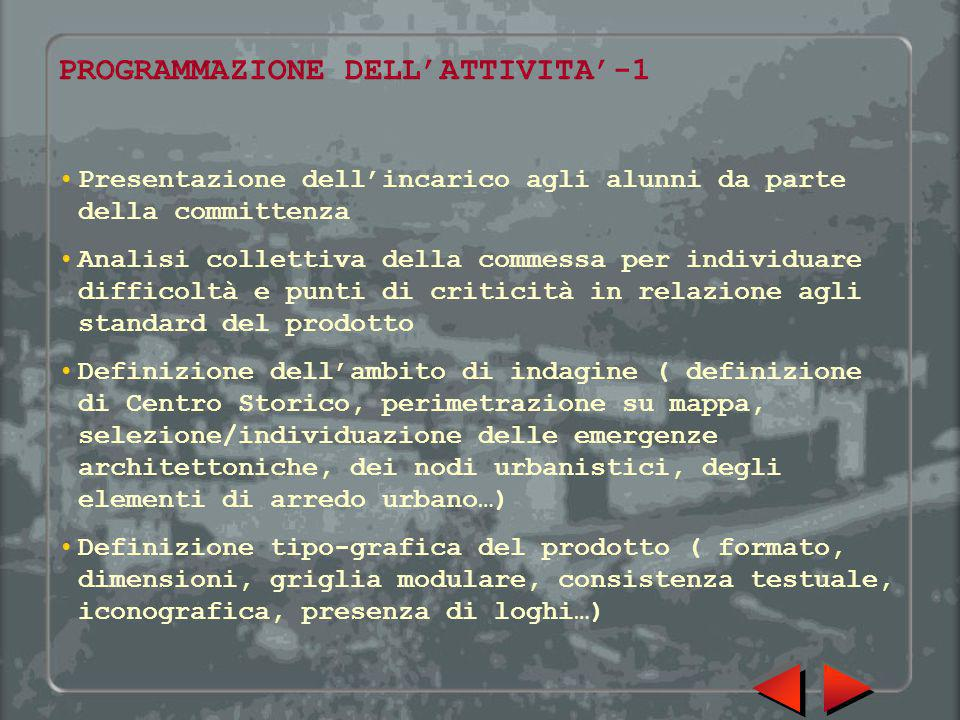 PROGRAMMAZIONE DELL'ATTIVITA'-1