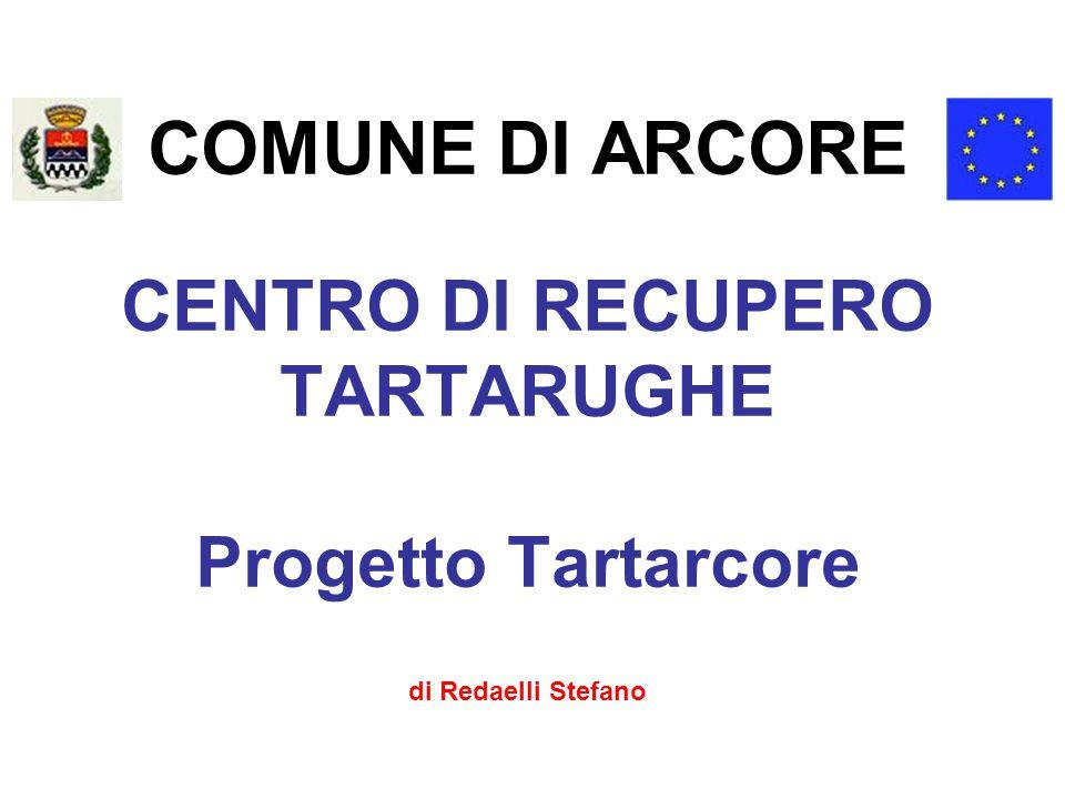 COMUNE DI ARCORE CENTRO DI RECUPERO TARTARUGHE Progetto Tartarcore di Redaelli Stefano