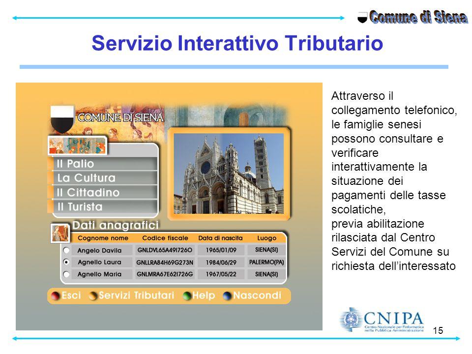Comune di Siena Servizio Interattivo Tributario