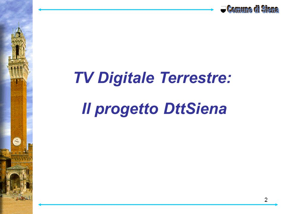 TV Digitale Terrestre: