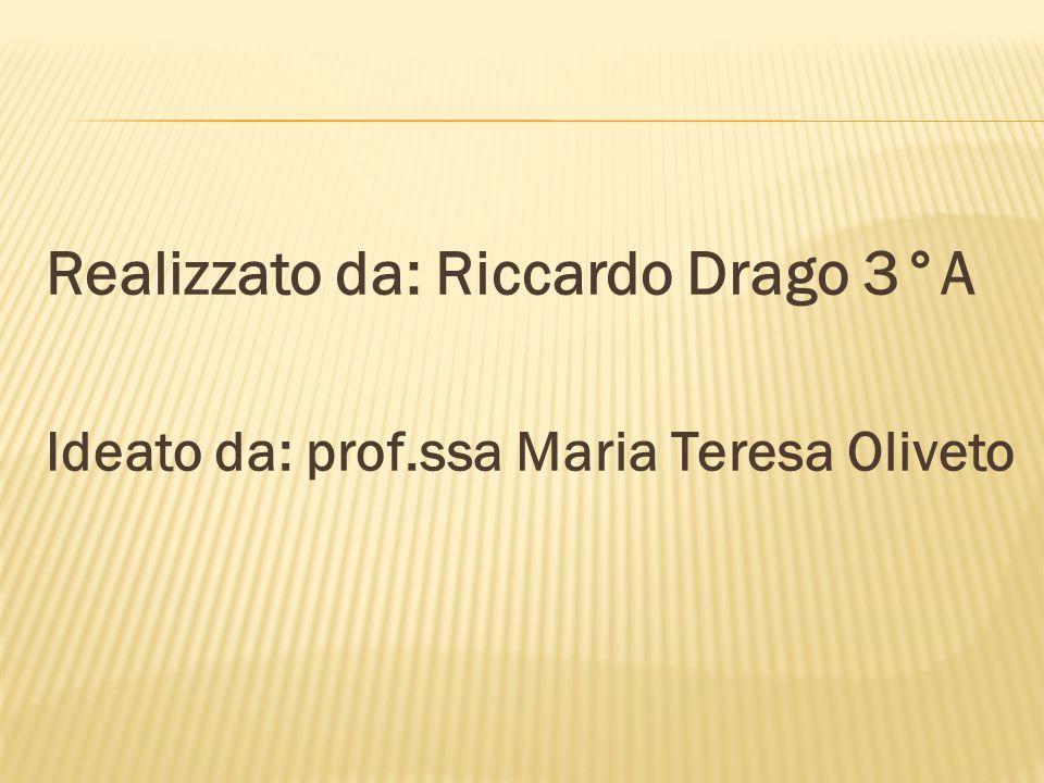 Realizzato da: Riccardo Drago 3°A