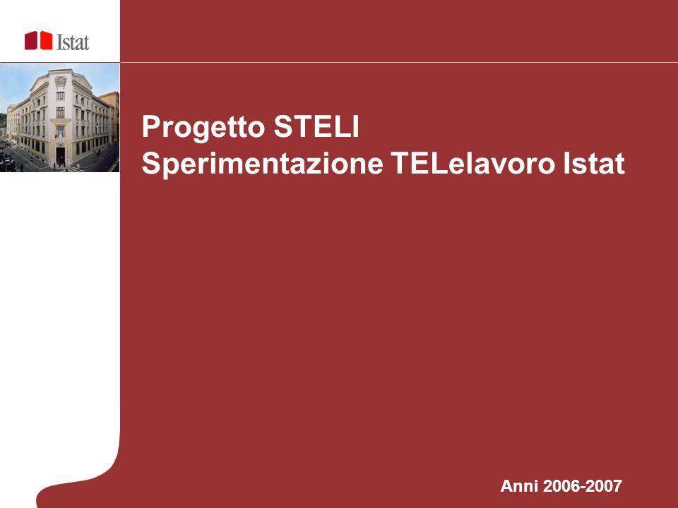 Sperimentazione TELelavoro Istat