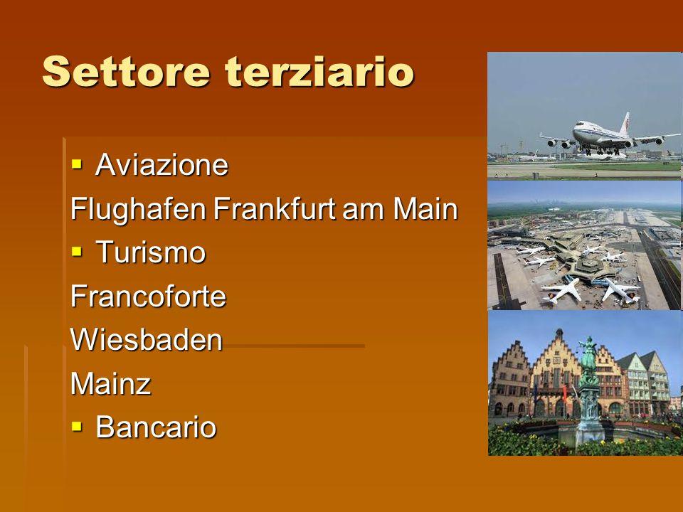 Settore terziario Aviazione Flughafen Frankfurt am Main Turismo