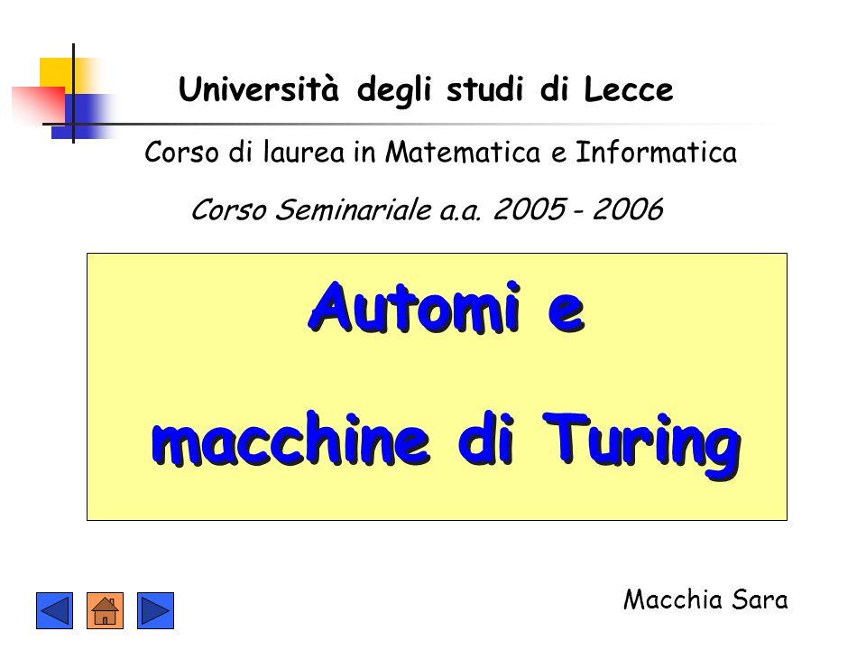 Università degli studi di Lecce