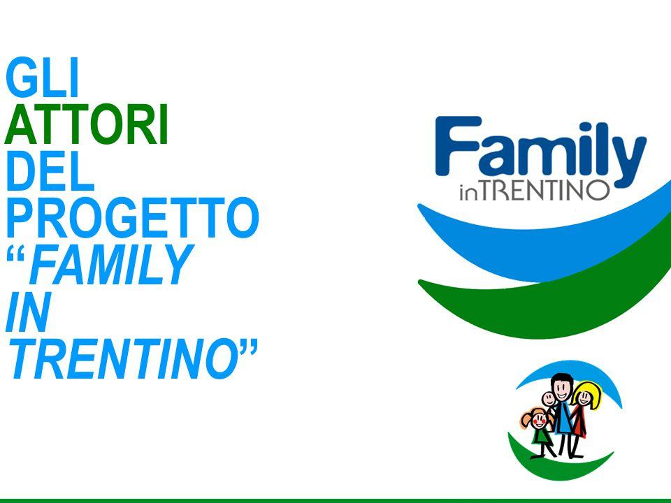 GLI ATTORI DEL PROGETTO FAMILY IN TRENTINO