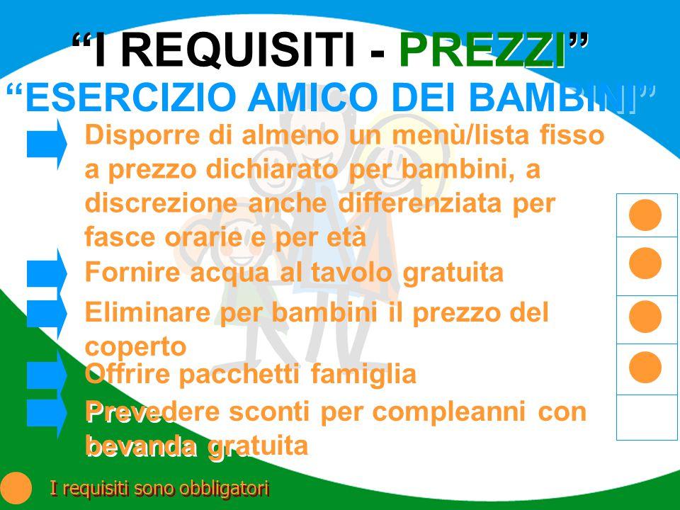 ESERCIZIO AMICO DEI BAMBINI