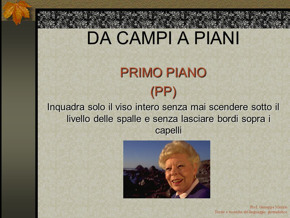 DA CAMPI A PIANI PRIMO PIANO (PP)