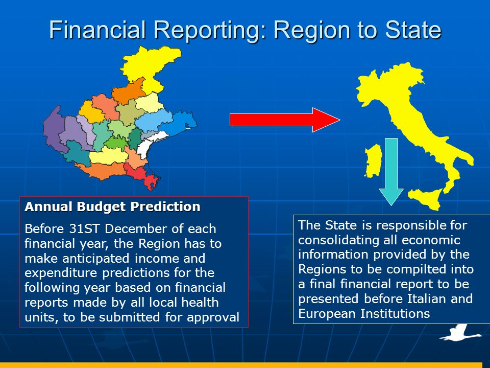 Financial Reporting: Region to State