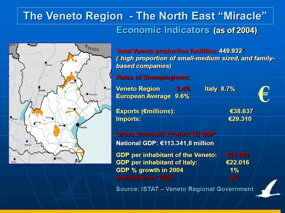 The Veneto Region - The North East Miracle