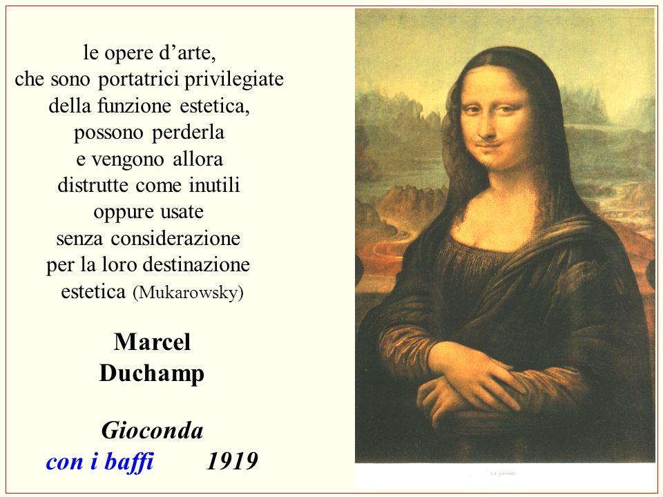 Marcel Duchamp Gioconda con i baffi 1919