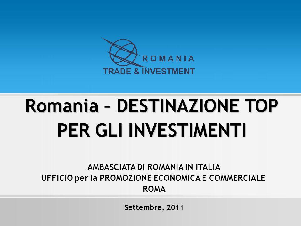 Romania – DESTINAZIONE TOP PER GLI INVESTIMENTI