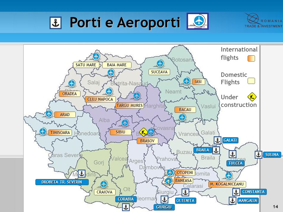 Porti e Aeroporti International flights Domestic Flights Under