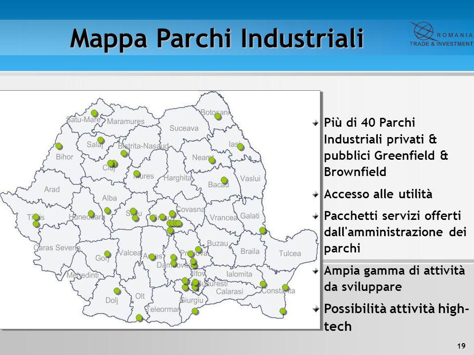 Mappa Parchi Industriali
