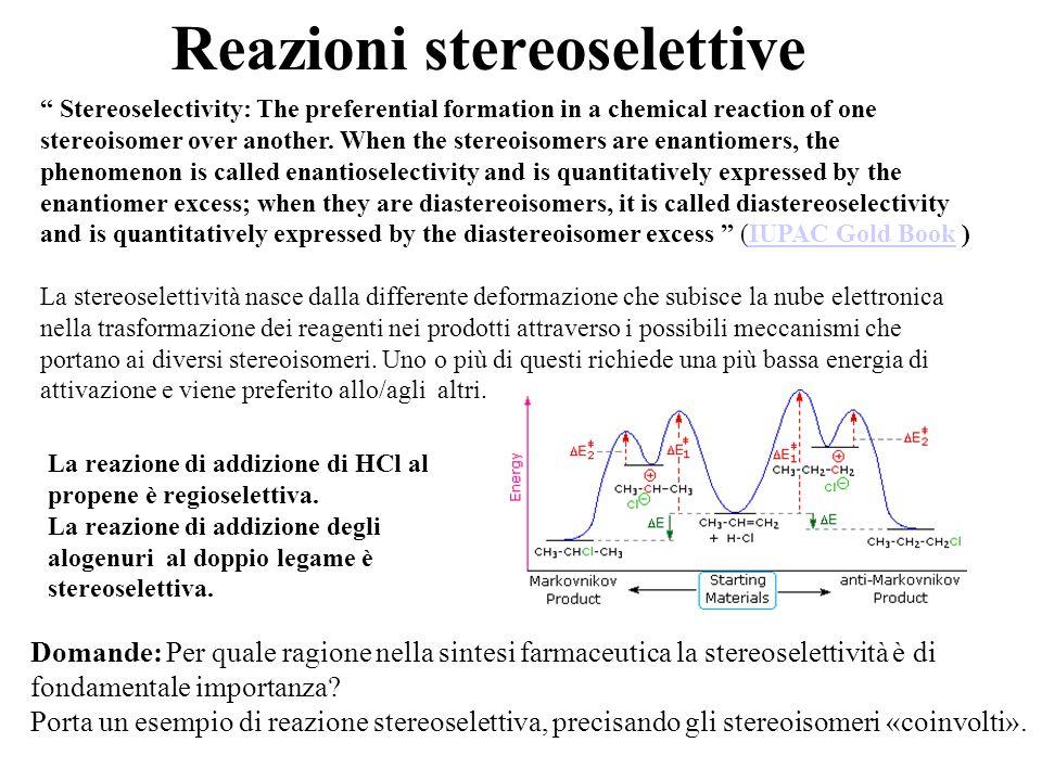 Reazioni stereoselettive
