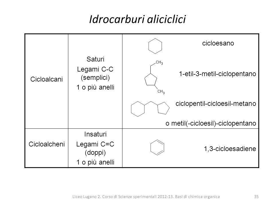 Idrocarburi aliciclici