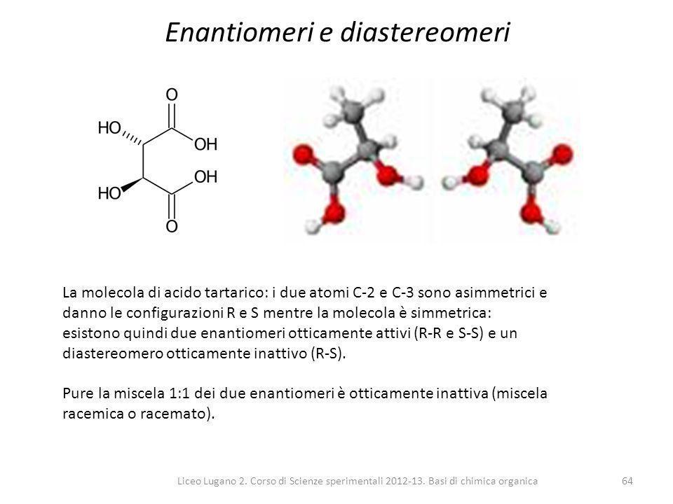 Enantiomeri e diastereomeri