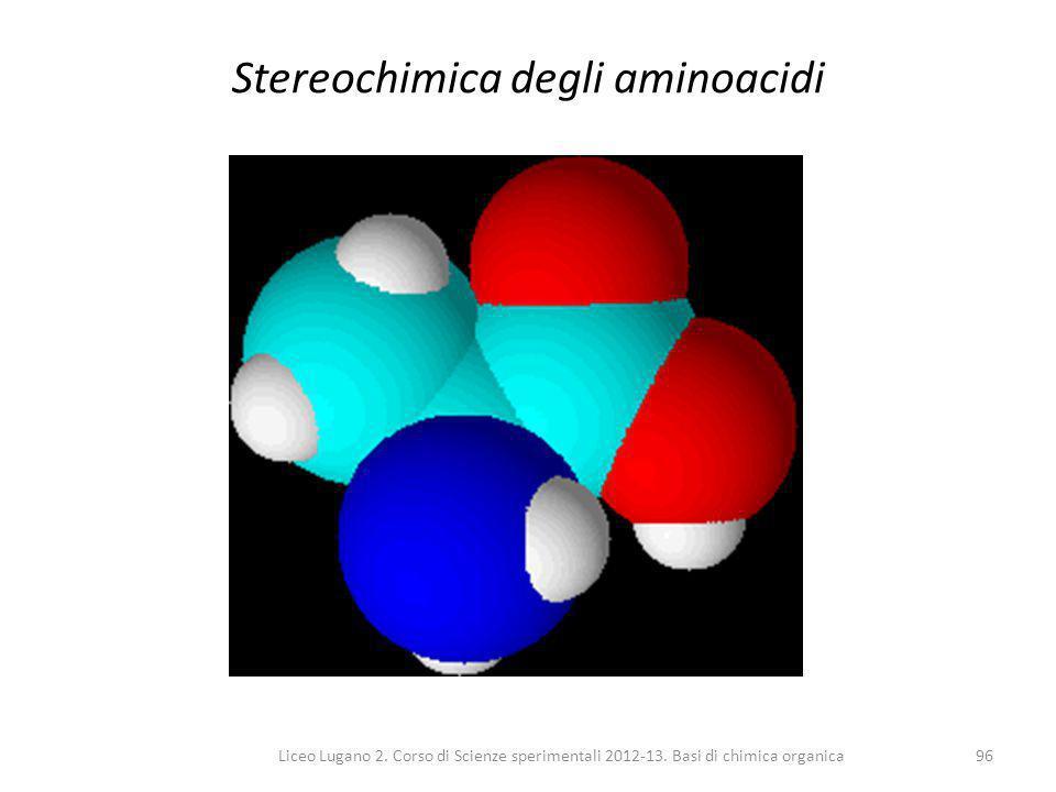 Stereochimica degli aminoacidi