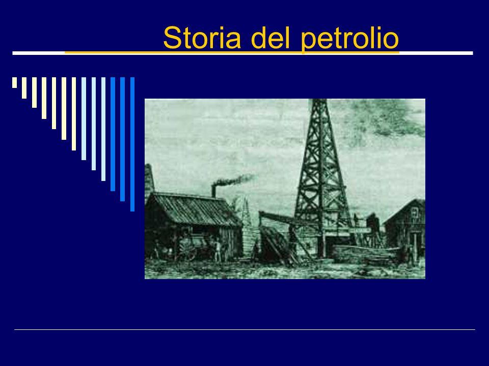 Storia del petrolio