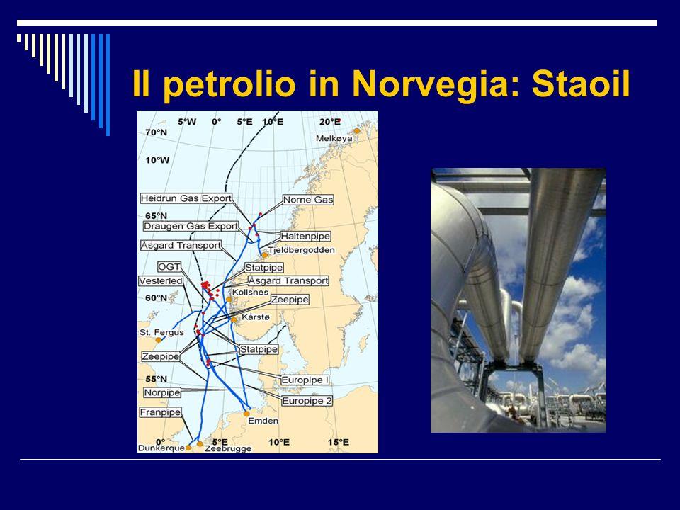 Il petrolio in Norvegia: Staoil