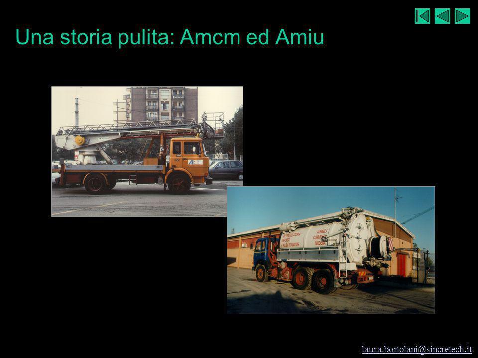 Una storia pulita: Amcm ed Amiu
