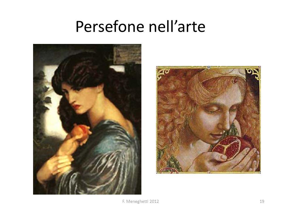 Persefone nell'arte F. Meneghetti 2012
