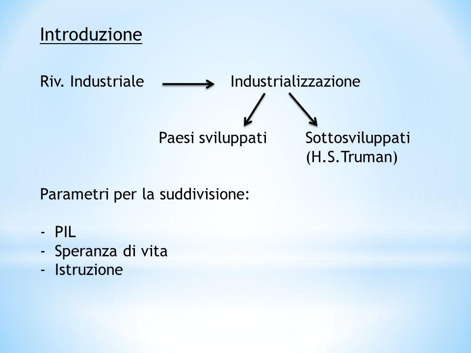 Introduzione Riv. Industriale Industrializzazione