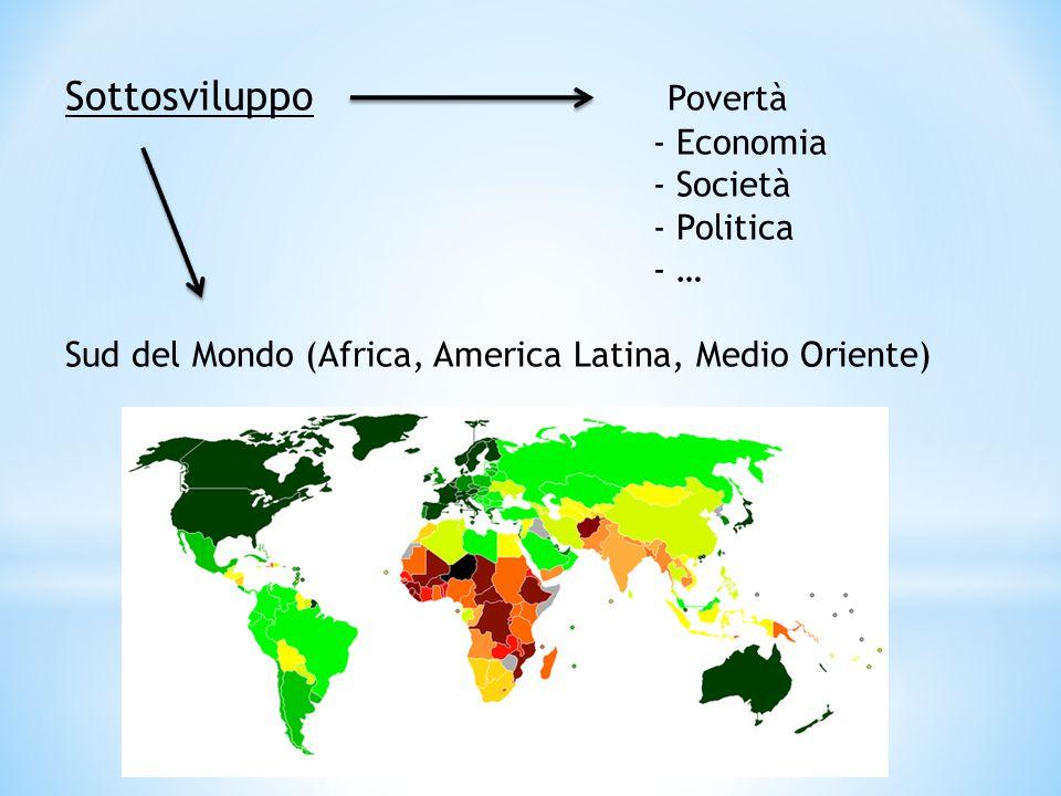 Sottosviluppo Povertà