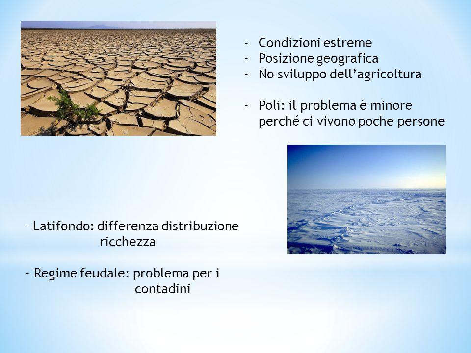 No sviluppo dell'agricoltura