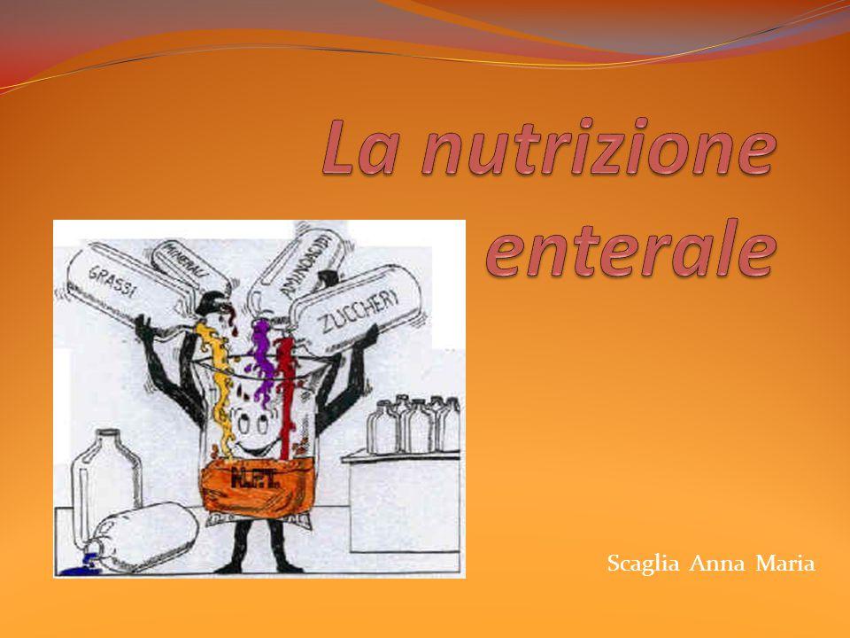La nutrizione enterale
