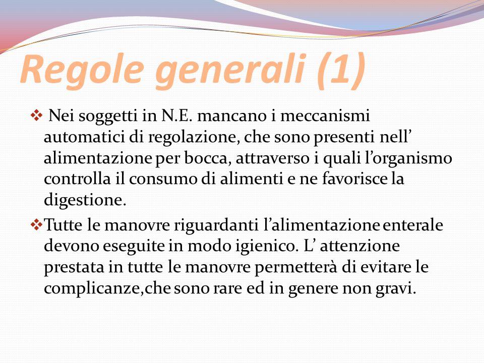 Regole generali (1)