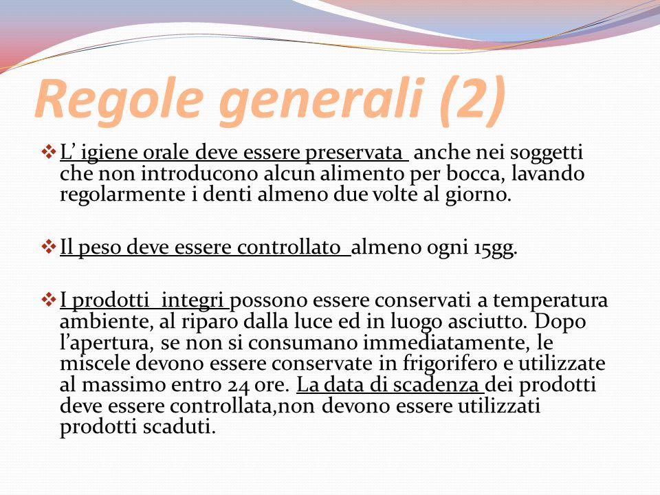 Regole generali (2)