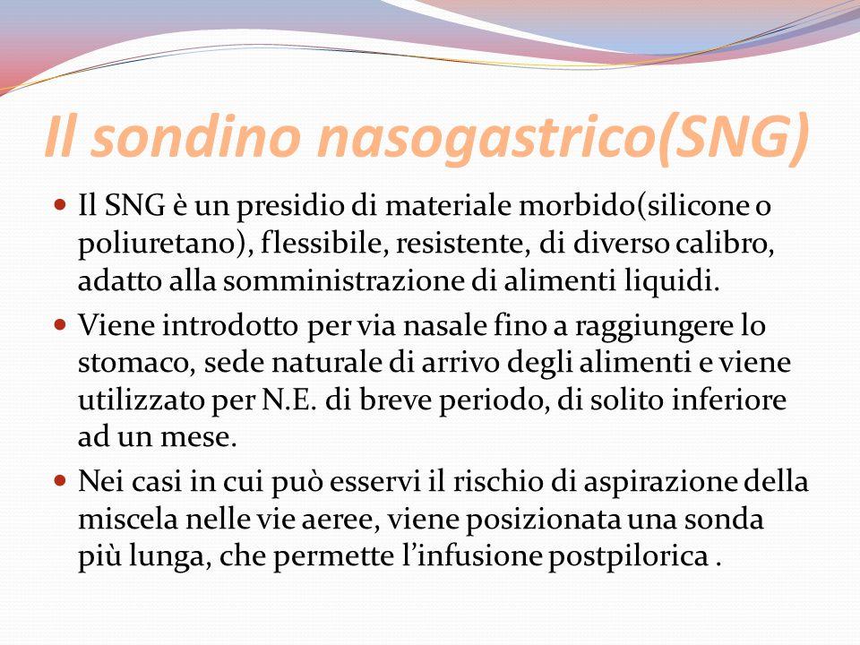 Il sondino nasogastrico(SNG)