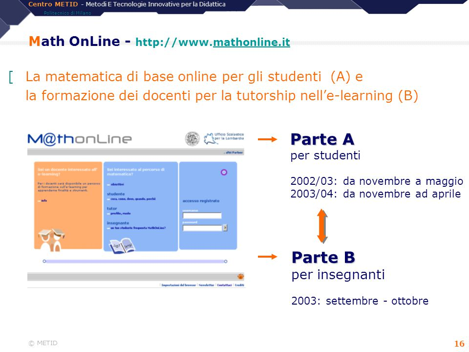 Math OnLine - http://www.mathonline.it