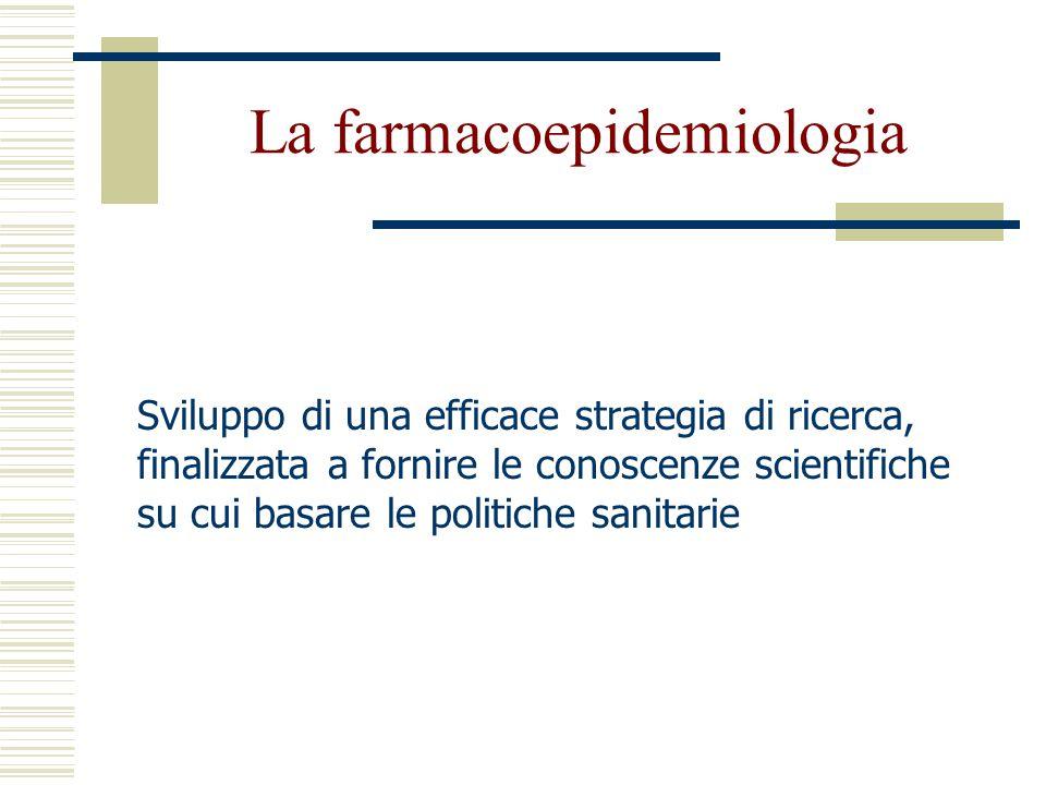 La farmacoepidemiologia