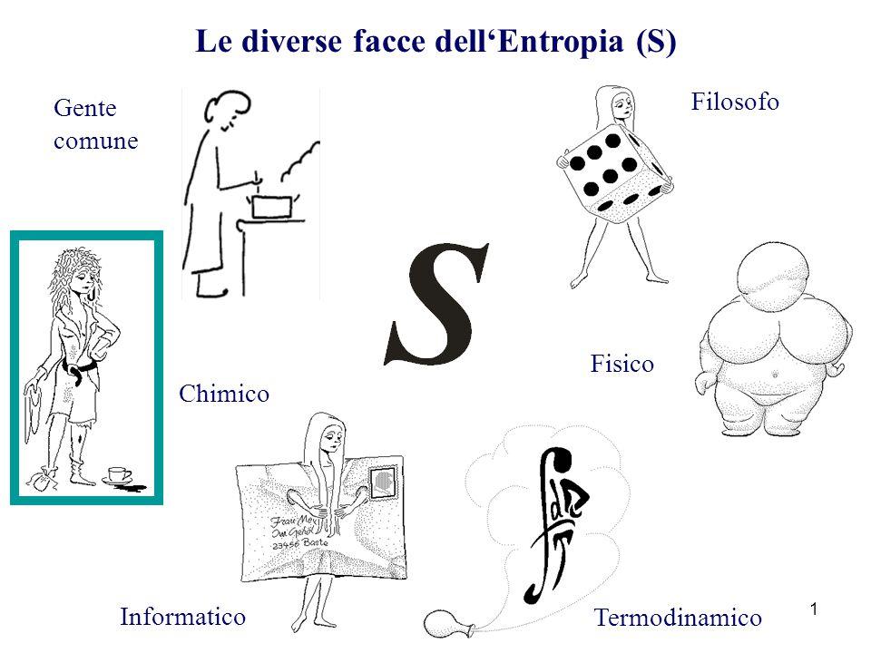 Le diverse facce dell'Entropia (S)