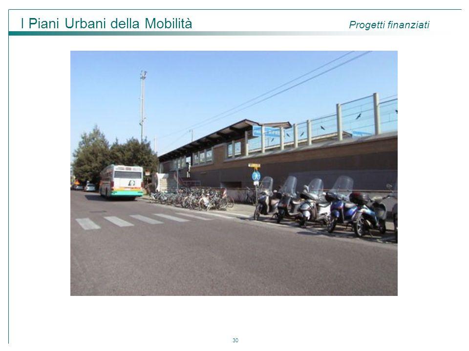 I Piani Urbani della Mobilità Progetti finanziati