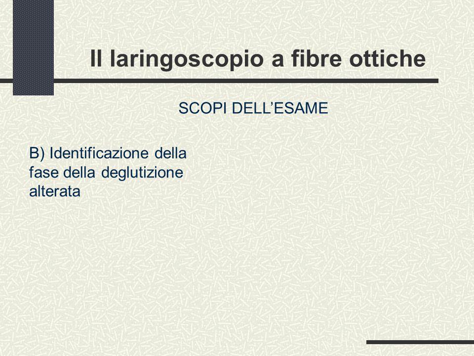 Il laringoscopio a fibre ottiche