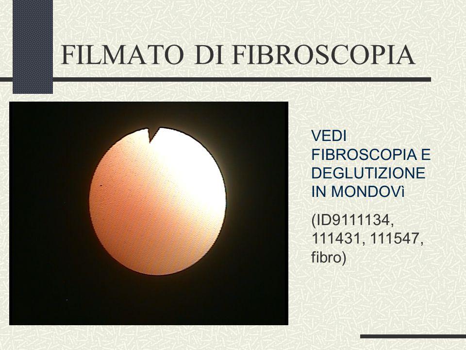 FILMATO DI FIBROSCOPIA