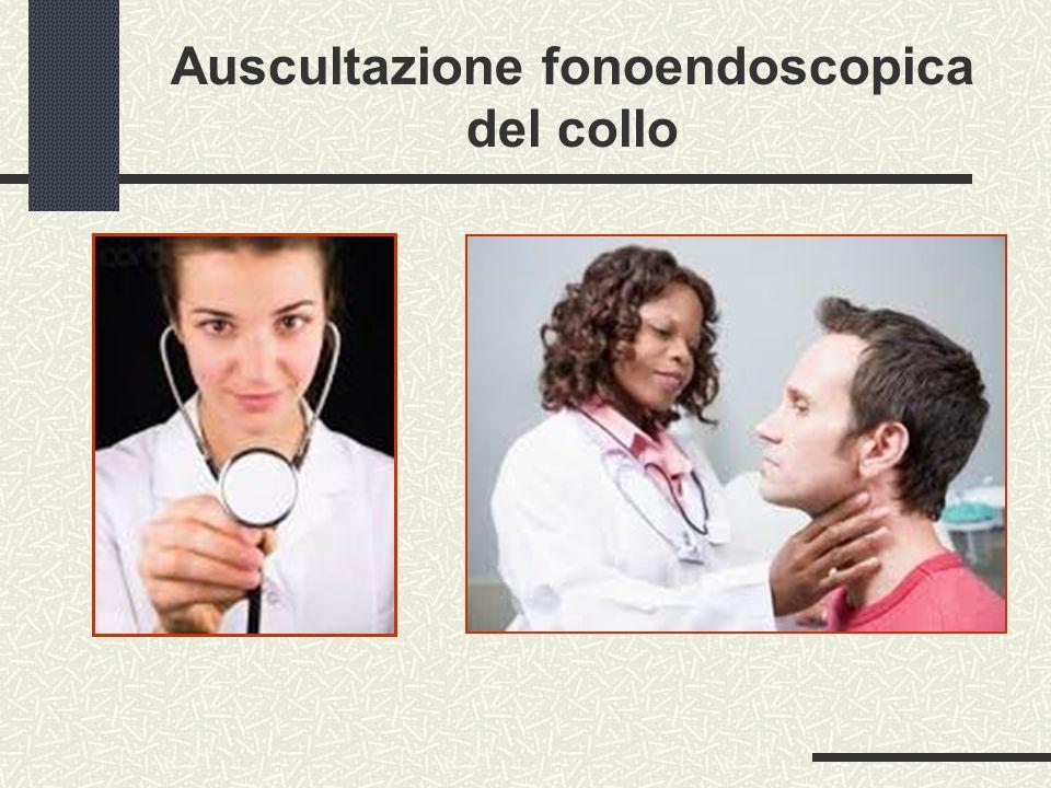 Auscultazione fonoendoscopica del collo