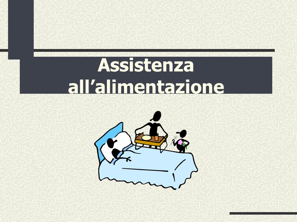 Assistenza all'alimentazione