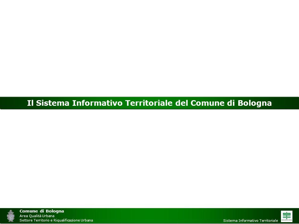 Il Sistema Informativo Territoriale del Comune di Bologna