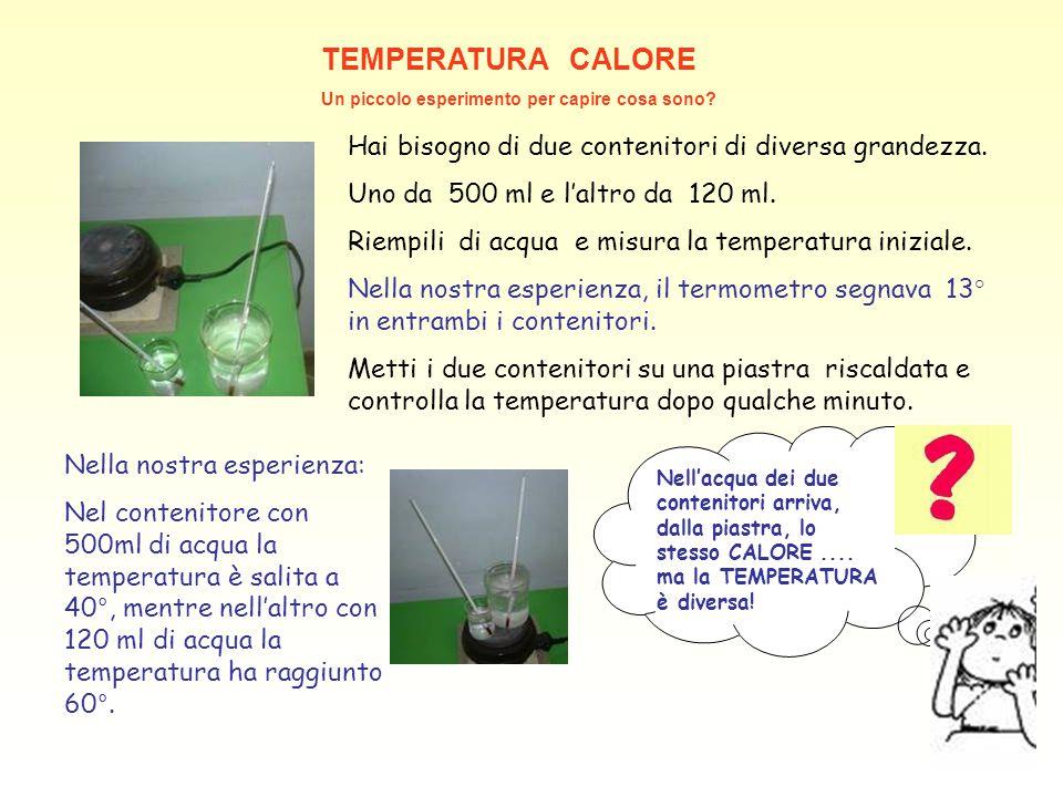 Conosciuto Vuoi conoscere CALORE E TEMPERATURA? - ppt video online scaricare ND32