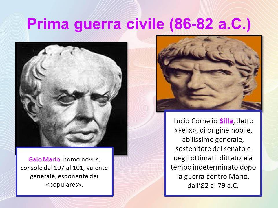Prima guerra civile (86-82 a.C.)