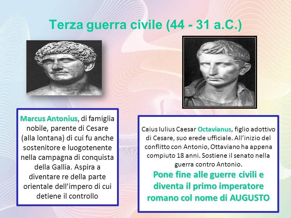 Terza guerra civile (44 - 31 a.C.)