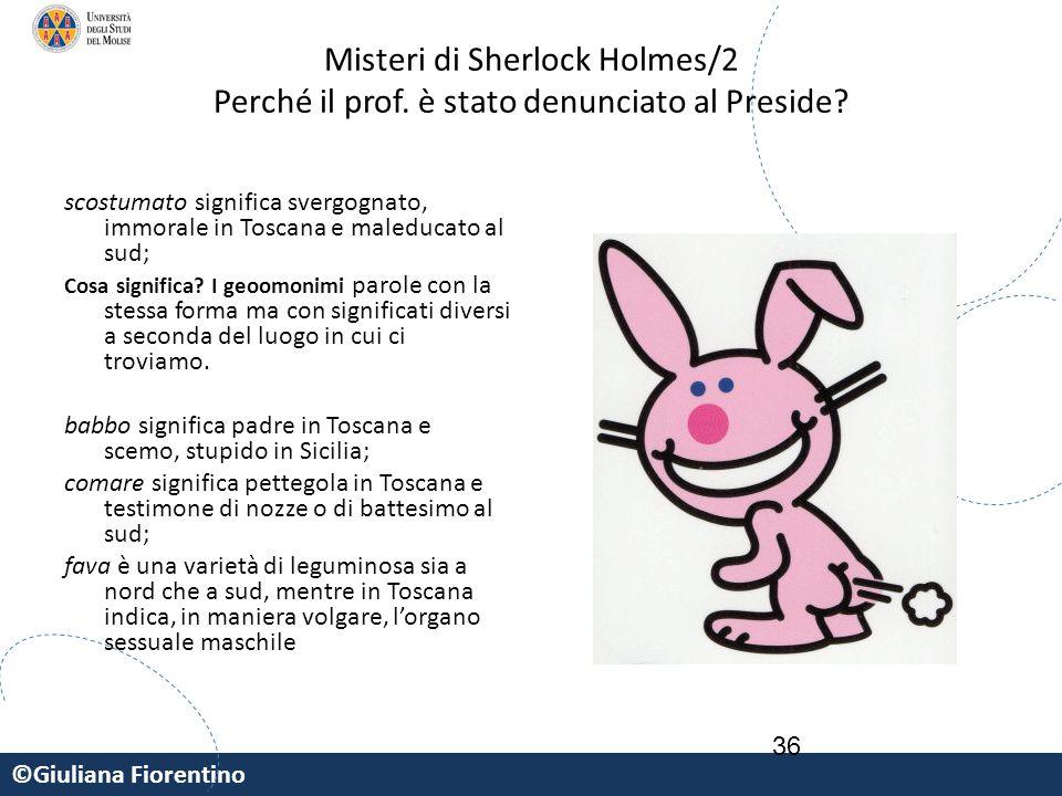 Misteri di Sherlock Holmes/2 Perché il prof