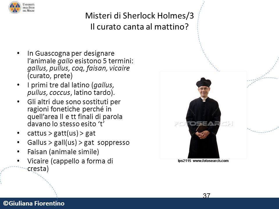 Misteri di Sherlock Holmes/3 Il curato canta al mattino