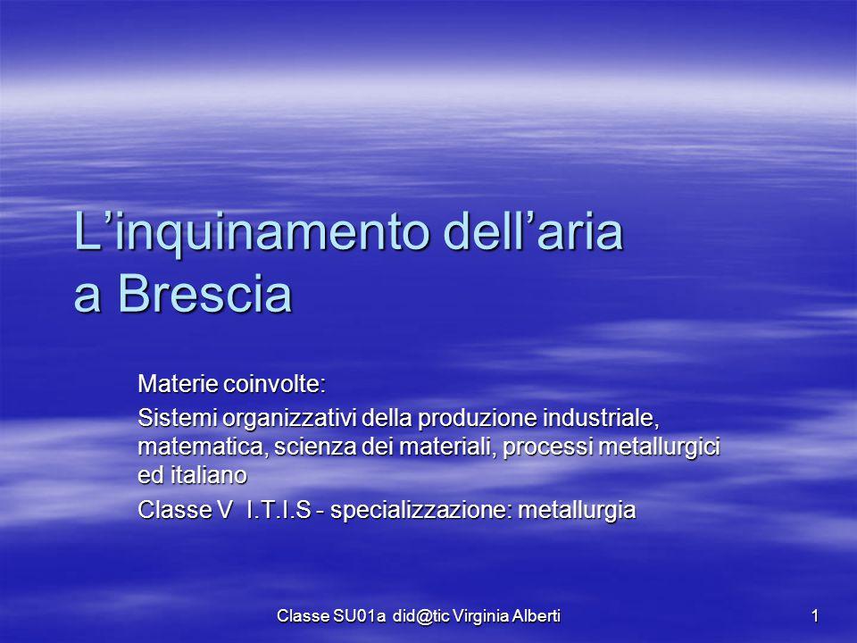 L'inquinamento dell'aria a Brescia