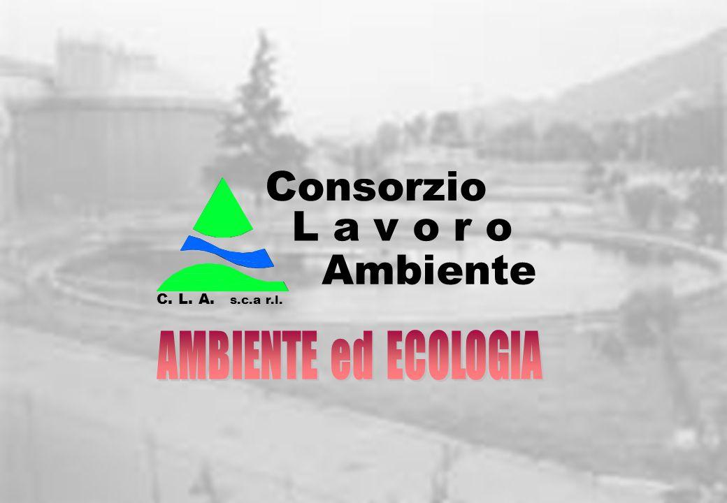 Consorzio L a v o r o Ambiente AMBIENTE ed ECOLOGIA C. L. A.